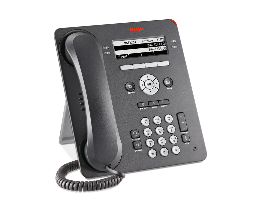 Avaya 9504 Phone - right