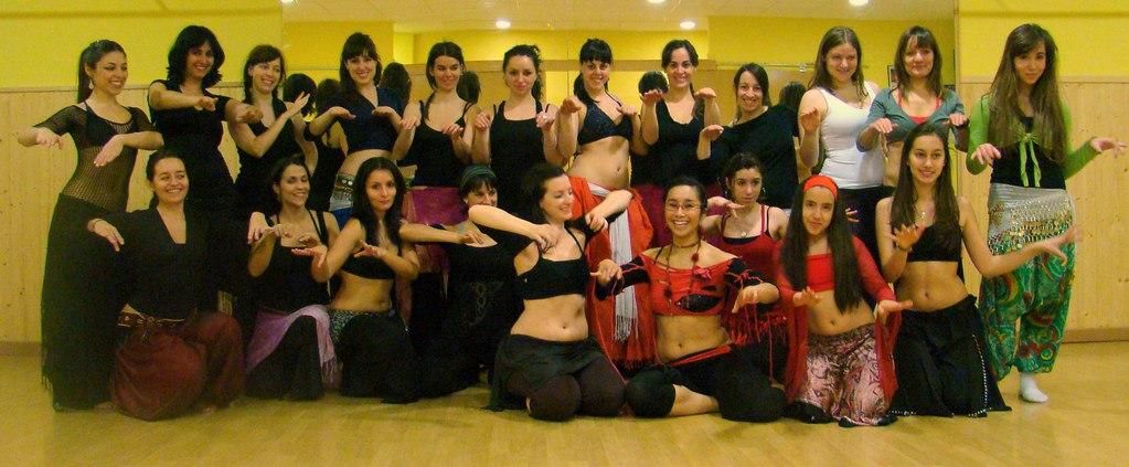 Anasma teaching in Madrid March 2010 by Luz Marina