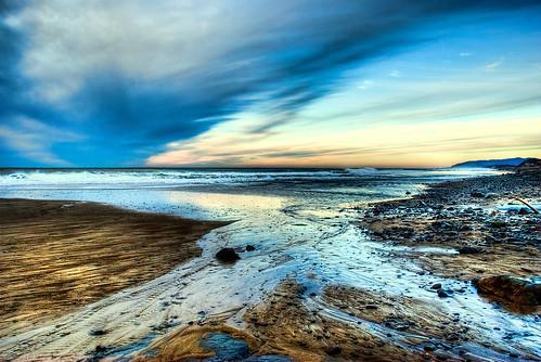 sea oregon coast sand rocks sigma 18200 hdr cs4 hss bellabeach photomatix nikond80 topazadjust mygearandme