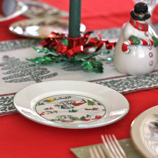 Christmas decorations 2009 - Table setting | Flickr ...