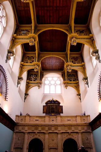 Inside Wollaton Hall, Nottingham