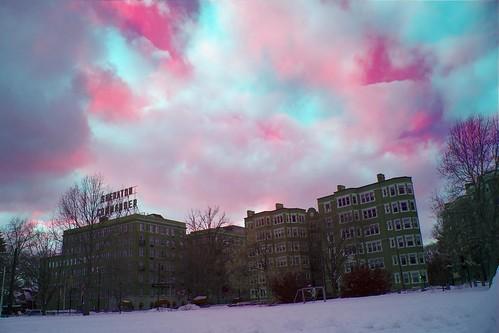 cambridge boston america hotel infrared sheraton 美国 剑桥 波士顿 马萨诸塞州 新英格兰