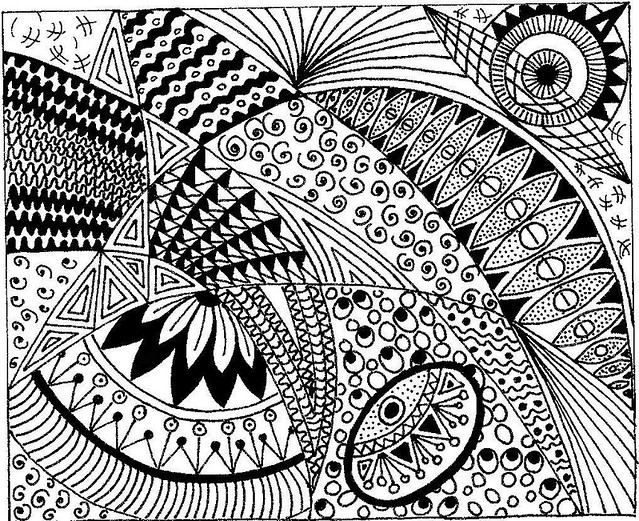 Line Art Zentangle : Zentangles a gallery on flickr