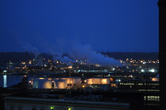 Port of Tacoma as seen from near the old Elks building.