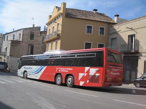 Autobus de Can Sagalés a Sant Feliu de Codines (Vallès Oriental)