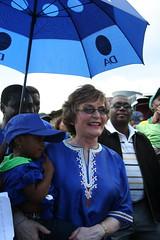 Helen Zille's visit to Mpumulanga- Jan2011