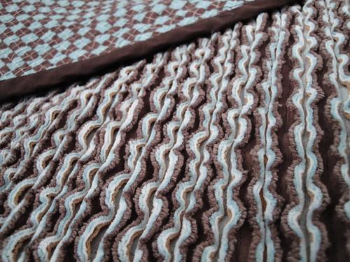 Faux Chenille Blanket (detail)