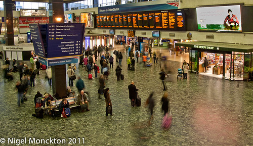 Euston - 4:00 pm