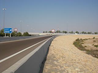 Straße durch die Wüste über Baadri nach Mossul 1274