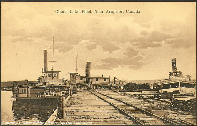 Arnprior (ON) Canada  city pictures gallery : Chat's Lake Fleet, near Arnprior, Ontario, Canada 1910 | Flickr ...