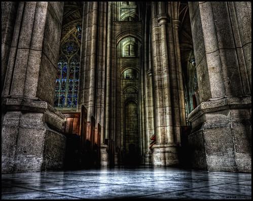 new dan church stone photoshop lumix floor cathedral web ceiling panasonic zealand nz otago dunedin nik ornate posts pillars pews hdr goodwin photomatix colorefex fz38 fz35 pommedan