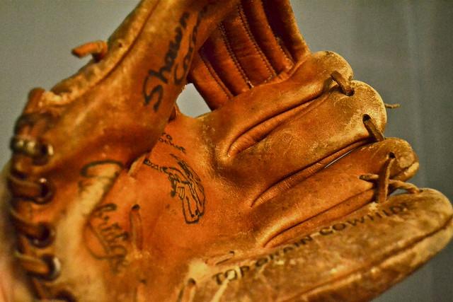 My first baseball glove