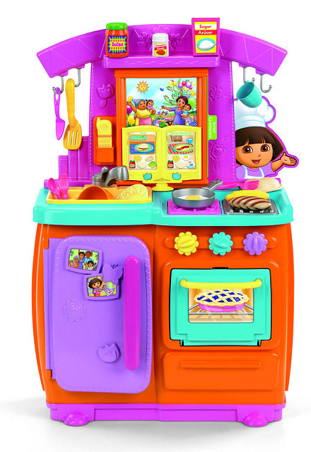 Dora The Explorer Fiesta Kitchen Set