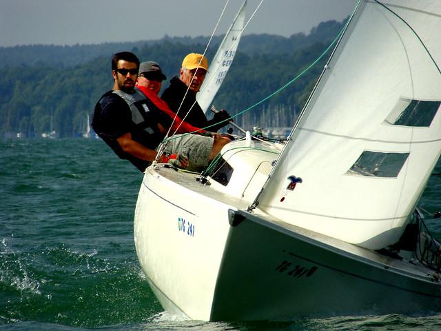 BYC Elfi-Pokal 2009: H-Boot hart am Wind