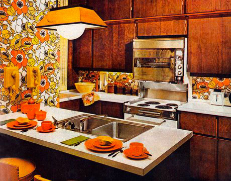 Expo 67 lounge for Kitchen design 70s
