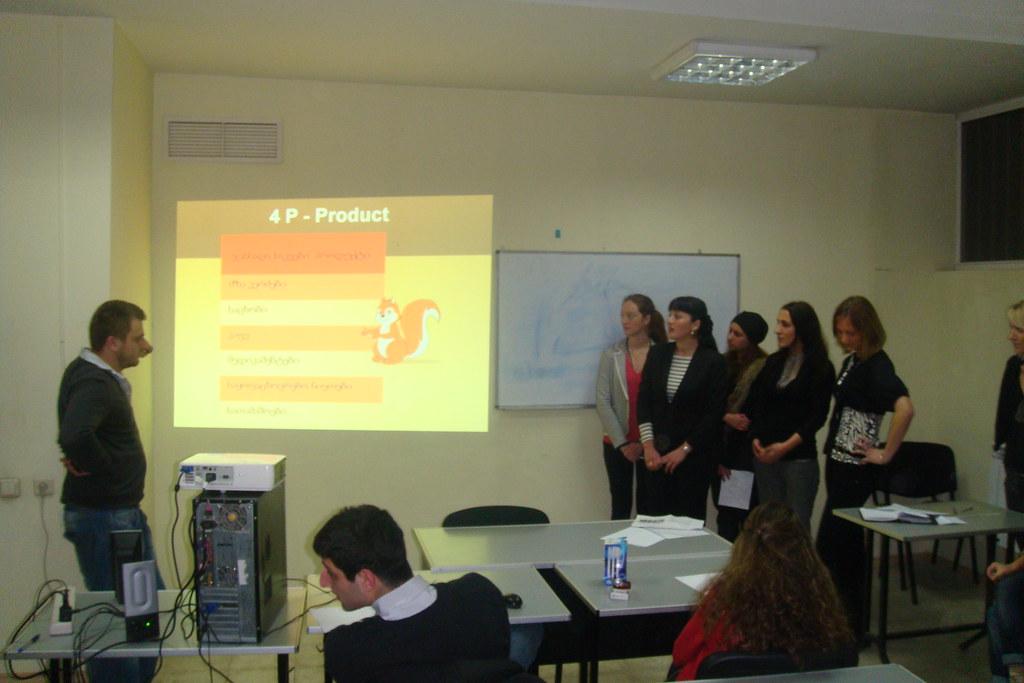 PRSchool - IMC №2 - January 2011_ Presentation in Marketing