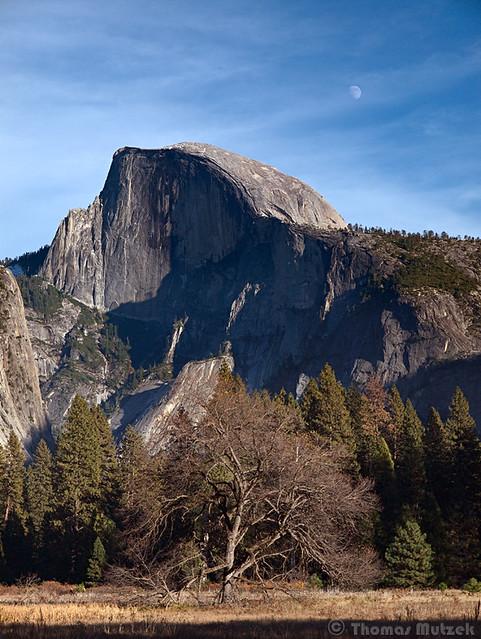Yosemite Valley and Half Dome, November 2010