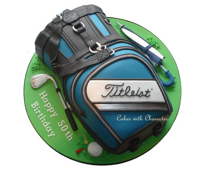 Golf Bag Cake Flickr - Photo Sharing!