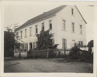 Photographs From a Haas Family Vacation to Bavaria, Germany: Reckendorf, Schoolhouse (circa 1911)