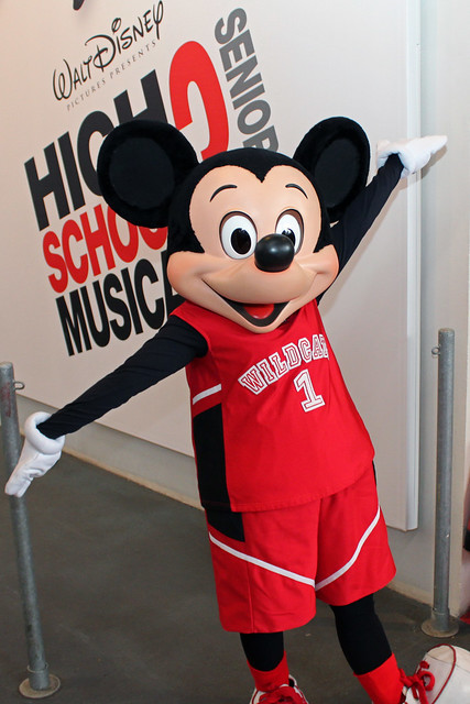 Meeting High School Musical Mickey Mouse