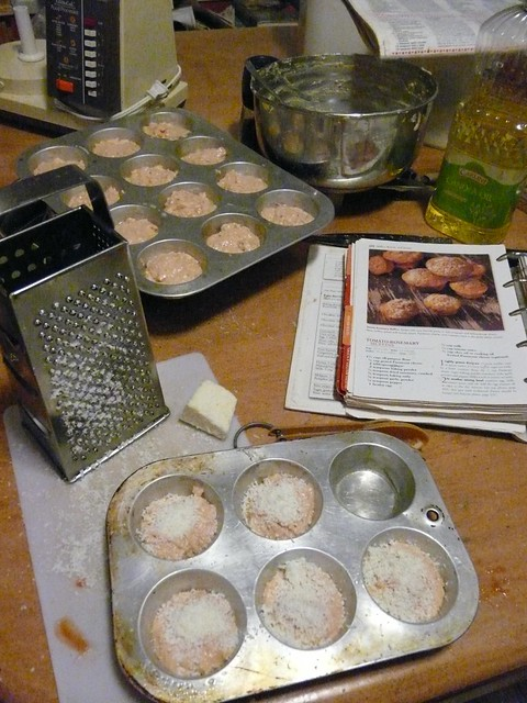 Tomato Rosemary Muffins - Step 3