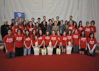 Launch of the ACT High School CPR & Defibrillator Training Program in Simcoe County (ACT Foundation)