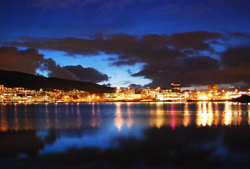Bergen by night...