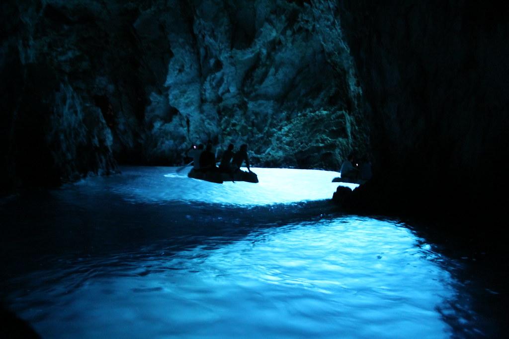 Cueva Azul, Grecia. Foto: Jeremy Vandel