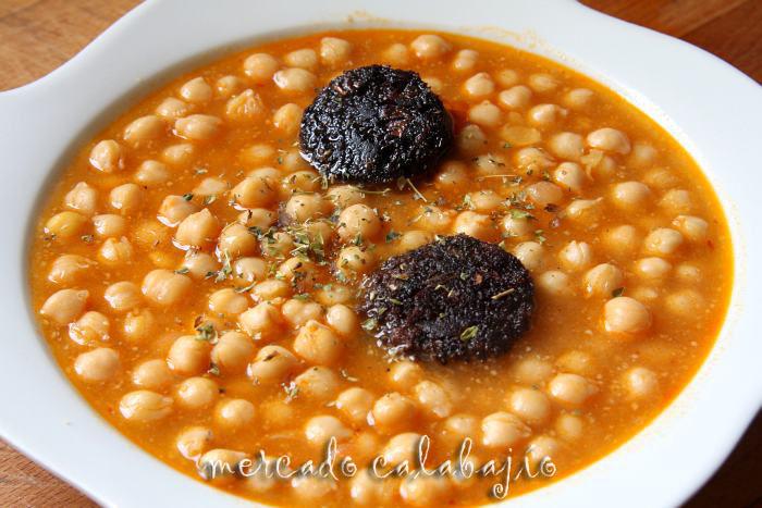 Hermoso cocina f cil garbanzos guisados im genes - Como hacer garbanzos guisados ...