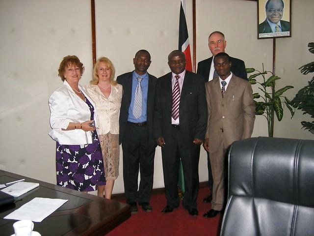 Meeting Asst Minister for Trade
