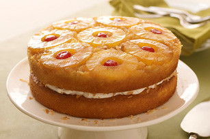 Pineapple Coconut Upside-Down Layered Cake | Flickr - Photo Sharing!