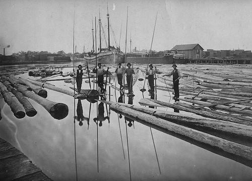 Lumbermen Tonawanda Creek 1860'S
