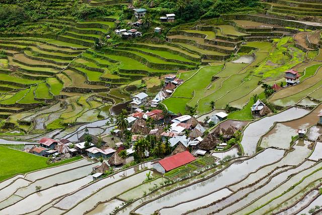 Las terrazas de arroz de Batad, Filipinas.