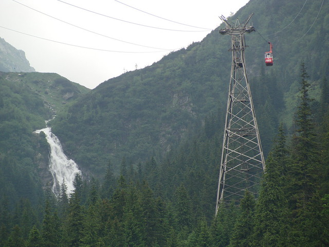Cable car - Transfagarasan Highway