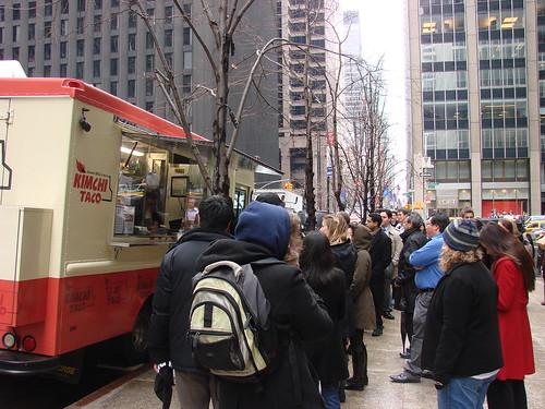 Kimchi Taco Truck line