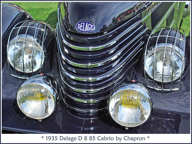 1935 Delage D 8
