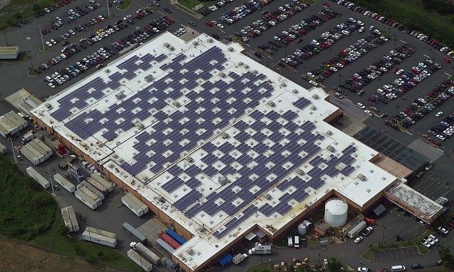Solar Panels On Caguas Puerto Rico Walmart Flickr