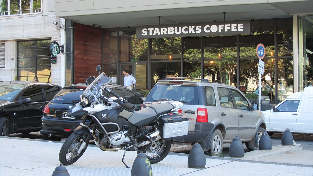 BMW and Starbucks