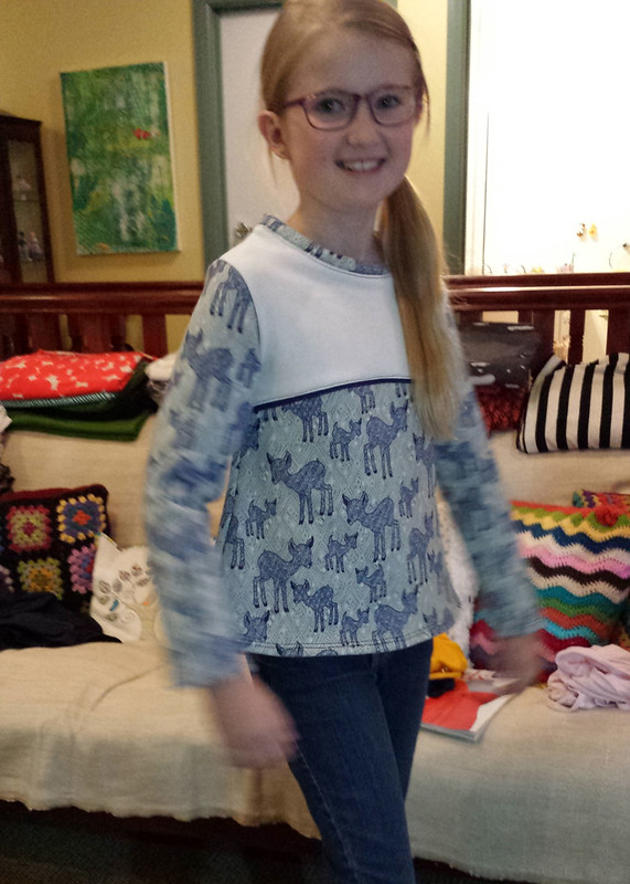 Nessie Top for Clare