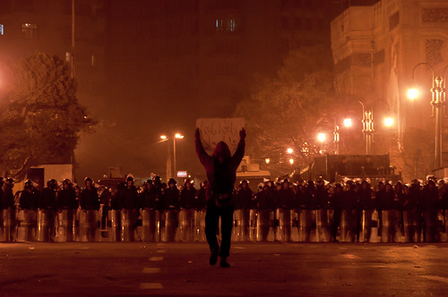 Tahrir Protester, Jan 25