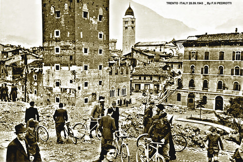 Seconda Guerra Mondiale - Trento bombardata