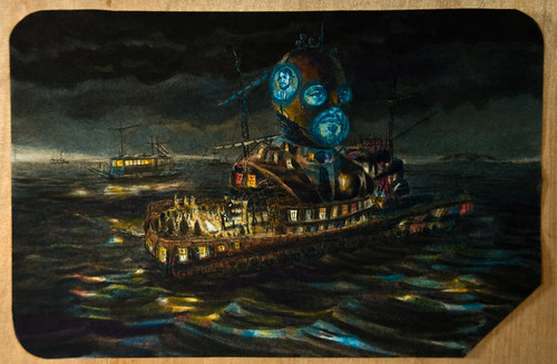 "Eric Petitti ""Confiscated Junk Ship 25713 (The Sellard Ship)"""