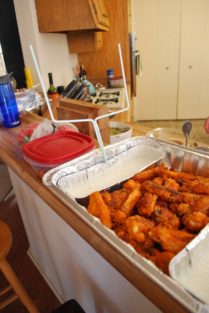 Chicken Wings Snack Stadium