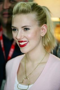 Scarlett Johansson at Camp Buehring, Kuwait - 2