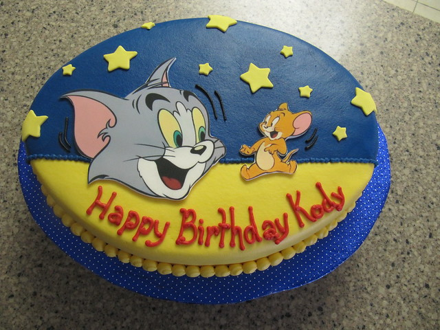Tom And Jerry Birthday Cakes Images