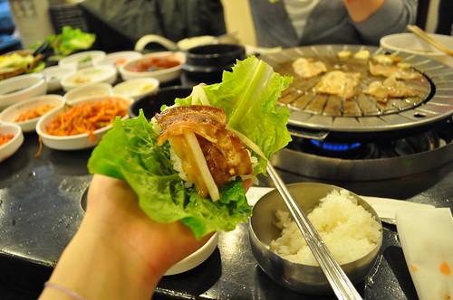 in korea/韓国にて/豚焼肉