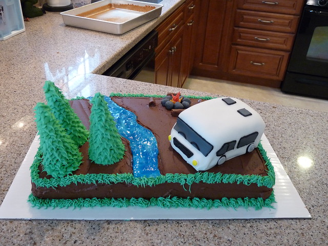 Model Cake Decor Ideas Motorhome Cake Cake Design Cake Inspiration Cake