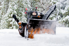 winter(1.0), vehicle(1.0), tool(1.0), snow(1.0), snow removal(1.0), snowplow(1.0), snow blower(1.0),