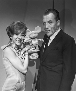 Shari Lewis, Ed Sullivan, Lamb Chop and Topo Gigio