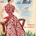 the 1950s-1953 Le Petit Echo de la Mode cover by april-mo